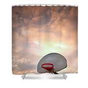 The Hoop Shower Curtain