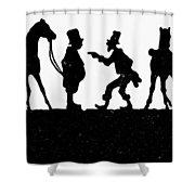 The Horse Dealer Shower Curtain