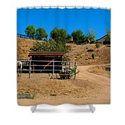 The Horse Ranch 2 Shower Curtain