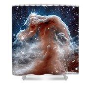 The Horsehead Nebula Shower Curtain