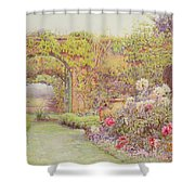 The Hotel Belvedere, Lacerla Shower Curtain