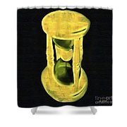 The Hourglass Shower Curtain