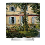 The House At Rueil Shower Curtain