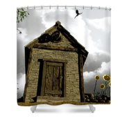 The House Of Light And Shadow Shower Curtain