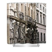 The House Of Omenoni Milan Italy Shower Curtain