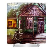 The House Of Spirits Shower Curtain