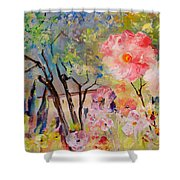 The House Of The Rising Flowers Shower Curtain