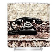 The House Phone Shower Curtain