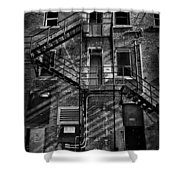The Hub Two Shower Curtain