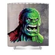 The Hulk Shower Curtain
