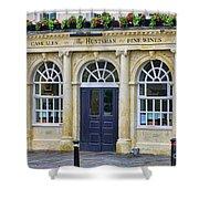 The Huntsman Pub In Bath 8456 Shower Curtain
