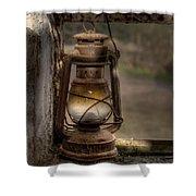 The Hurricane Lamp Shower Curtain