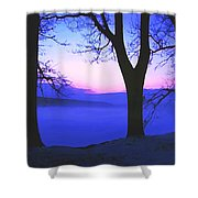 The Hush At First Light Shower Curtain