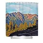 The Hut 2 Shower Curtain