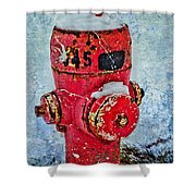 The Hydrant Shower Curtain