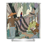The Idle Beauty Shower Curtain