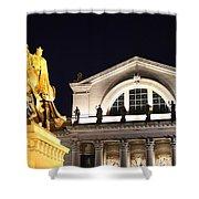 The Illumination Of Saint Louis Ix Shower Curtain