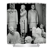 The Indian Icons Shower Curtain