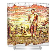 The Indian Tribe Shower Curtain