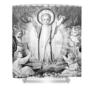 The Infant Jesus Shower Curtain