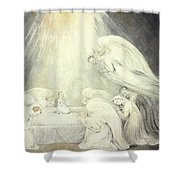The Infant Jesus Saying His Prayers Shower Curtain