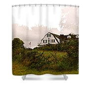 The Inn Shower Curtain
