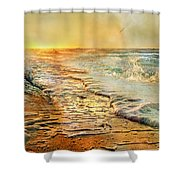 The Inspirational Sunrise Shower Curtain