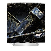 The Internal Parts Abstract Shower Curtain