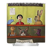 The International Cyclops Conference Edit 2 Shower Curtain