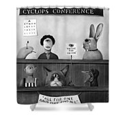 The International Cyclops Conference Edit 4 Shower Curtain