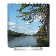 The Intervale On The Piscataquis Shower Curtain