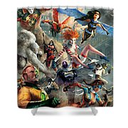 The Invincibles Shower Curtain