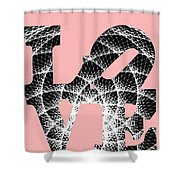 The Invisible Lines That Hold Love Together Shower Curtain