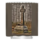 The Irish Brigade At Gettysburg  63rd-69th-88th New York Infantry St. Patricks Day 2012 Shower Curtain