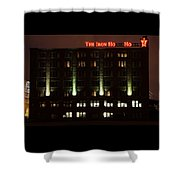 The Iron Horse Hotel Shower Curtain