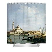 The Island Of San Giorgio Maggiore Shower Curtain