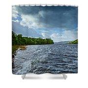 The Isle Of Inishfree...i Will Arise Shower Curtain