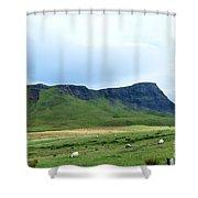 The Isle Of Skye In Scotland Shower Curtain