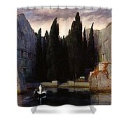 The Isle Of The Dead Shower Curtain