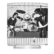 The J. Geils Band Rock Out In Oakland In 1976 Shower Curtain
