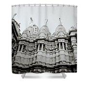 The Jain Towers Shower Curtain