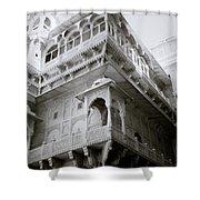 The Jaisalmer City Palace Shower Curtain