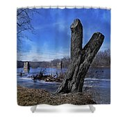 The James River One Shower Curtain