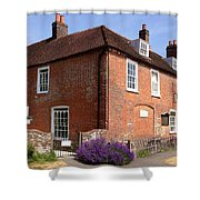 The Jane Austen Home Chawton England Shower Curtain