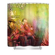 The Jazz Vipers In New Orleans 03 Shower Curtain