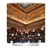 The Jefferson Building Library Of Congress Shower Curtain