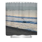 The Jersey Surf Shower Curtain