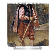 The Jester Named Don John Of Austria Shower Curtain