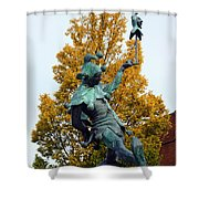 The Jester Touchstone Shower Curtain