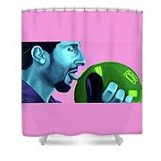 The Jesus Shower Curtain